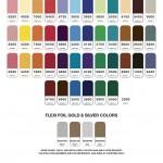 ソノシート印刷カラーサンプル