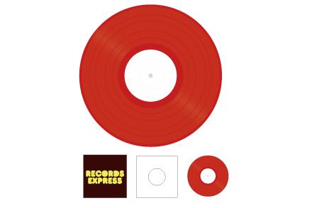 12inch レコードパック(カラー)