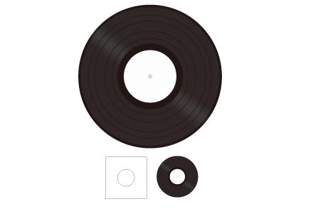 12inchレコード(重量盤)